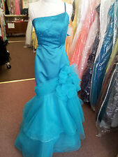 Loralie New Prom Evening Spicial Occasional  Formal Turquoise Dance Gown. Size 6