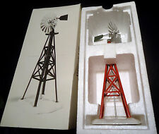 Dept 56 Snow Village Windmill #5456-9 NIB Retired Handpainted Metal & ceramic