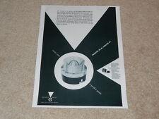 JBL Ad, 1958, Signature 075 Horn Tweeter, N2500 Crossover, Article, 1 pg