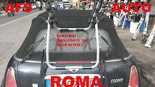 PORTABICI POSTERIORE 3 BICI MINI CABRIO X BICI UOMO DONNA OMOLOGATO TUV AFS ROMA