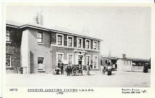 Railway Postcard - Andover Junction Station L. & S.W.R. c1906 - V443