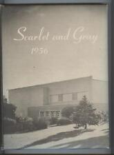Scarlet and Gray 1956 -- West Lafayette High School, Indiana, Yearbook