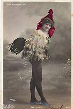 BD550 Carte Photo vintage card RPPC Femme woman Gaité Rochechouart De Sony