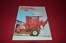 Gehl 125 170 Grinder Mixer Mix All Dealer's Brochure AMIL9