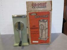 Mid Century (1950's) RIVAL ICE-O-MAT Ice Crusher Old New in the Original box