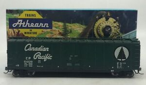 Athearn 1328 HO Scale Canadian Pacific 50' Boxcar Kit (Assembled) LN/Box