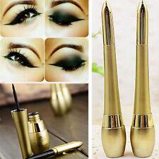 1PC Waterproof Lasting Eyeliner Liquid+Eye Liner Pen Pencil Beauty Makeup Black