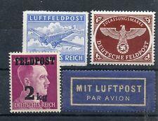WWII German Feldpost Brown Eagle 2Kg Airmail RARE Mit Luftpost pRiCe ReDuCtiOn