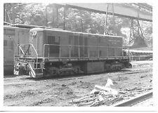 7AA626 1970s RP VIRGINIA POCAHONTAS ISLAND CREEK COAL LOCOMOTIVE VP1 MINE WV