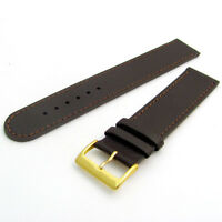 Super long XXL Genuine Leather Watch Band Strap Choice of sizes Black or Brown