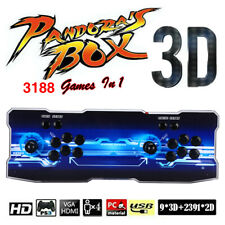 Pandora's Box 12 3188 in 1 Family Games 4 Player Arcade Console 2D LCD For PC TV