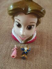 Vintage Polly Pocket Disney Beauty & the Beast Playset Belle Head Figures S1