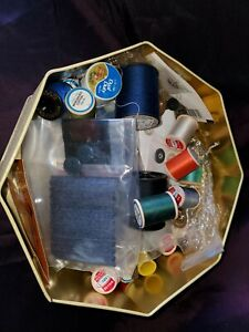 Group of 28 Vintage Sewing Thread & Notions