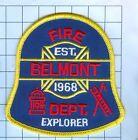 Fire Patch -Belmont Explorer