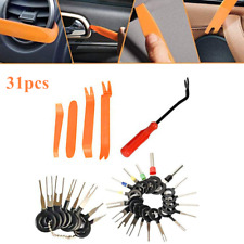 31pcs Car Pin Extractor Electrical Wire Connector Fastener Rivets Removal Tools