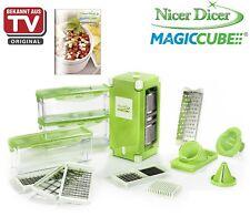 Genius Nicer Dicer Magic Cube + XXL Messereinsätze + Behälterset 20 tlg