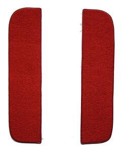 1967-1972 GMC C15/C1500 Suburban Loop Carpet Front Door Panels on Cardboard