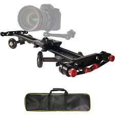 Vidpro SK-24 24 Inch Track Slider and Skater Dolly for DSLR Camera & Camcorders