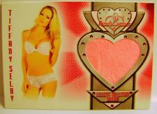 TIFFANY SELBY PLAYBOY BENCHWARMER ECLECTIC COLLECTION SWATCH CARD #12 2014
