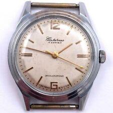 Old 1950s Soviet STOLICHNIE KIROVSKIE WindUp watch  Serivced *US SELLER* #778