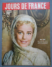 ►JDF 159-1957-MARIA SCHELL-GRACE KELLY-CHRISTIAN MARQUAND-PRINCESSE SHANAZ..