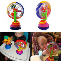 Plastic Rotating Ferris Wheel Baby's Early Educational Toy for Stroller Play