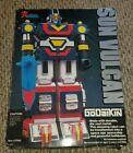 VINTAGE Sun Vulcan Godaikin 1984 Bandai Popy Chogokin Robot - Near Complete