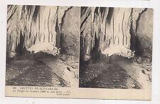 carte postale stéreo , grottes de bétharram , le temple des serpents