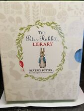 First edition The Peter Rabbit Library by Beatrix Potter - 10 books in slip box
