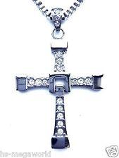 Fast AND FURIOUS VIN DIESEL Dominic Toretto croce catena in acciaio inox