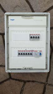 Sicherungskasten Elektro Verteilung Unterputz Sicherungen Fi RCD B16 B32 F374