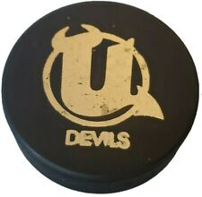 UTICA DEVILS VINTAGE OFFICIAL HOCKEY PUCK RARE MADE IN 🇨🇿