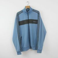 Vintage ADIDAS ORIGINALS Blue Tracksuit Top Jacket | Retro Trefoil | XXL