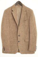 Hommes Harris Tweed Blazer GANT Veste Écossais Laine EU54 UK / US44 XL HA419
