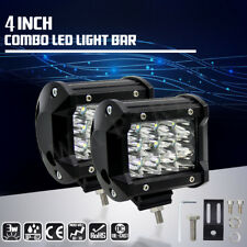 "2 Pcs Car Truck 36W 12V 24V 4"" LED Work Spot Light Flood Driving Bright Bulb SUV"