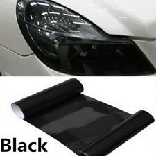 "Dark Smoke Protect PVC Film Tint Headlight Taillight Fog Wrap Roll 12"" X 24"""
