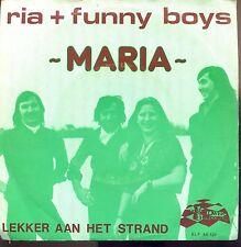 7inch RIA + FUNNY BOYS maria HOLLAND 1978 EX +PS IVORY TOWER REC