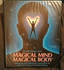 Deepak Chopra M.D. - MAGICAL MIND MAGICAL BODY - 6 Cassette Tapes & booklet set