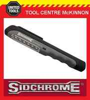 SIDCHROME SCMT65010 45 LUMEN LED USB RECHARGEALE PENLIGHT