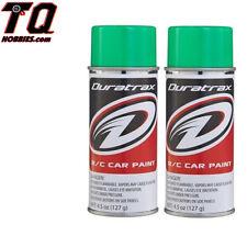 DTXR4281 Duratrax PC281 Polycarb Spray Fluorescent Green 4.5 oz  2 cans