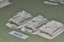 20mm WW2 / german - 3 panzer IV tanks - vehicles (36101)