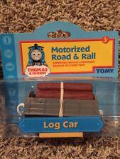 Thomas & Friens Motorized Road & Rail Log Car