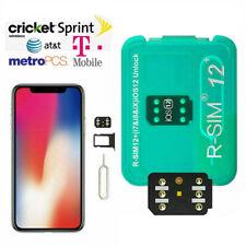 RSIM12+ Nano Unlock RSIM Card for iPhone 11/11 Pro/XS/X/8/7/6 iOS 12.4 13 #