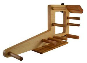 Mini Inkle Loom for Belt, Tablet or Card Weaving - Handmade from Maple and Oak