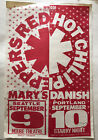 Seattle+Band+Flyer+%3A+Red+Hot+Chili+Peppers+%3A+Mary%E2%80%99s+Danish+%40+%EF%BF%BCMoore+Theater