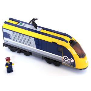Lego Genuine City Passenger Train Engine (No Battery and Motor) from 60197 - NEW