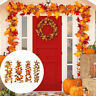 175cm Artificial Fall Maple Leaves Garland Autumn Hanging Plant Home Party Decor