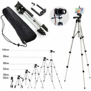 Tripod Stand Mount For Digital Camera Camcorder Phone Holder iPhone DSLR SLR UK