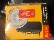 KODAK vintage Supermite flasholder No.714 / original box