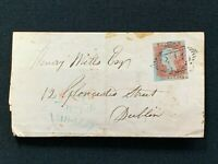 Postal History Entire Cover to Henry Mills, Solicitor, Gloucester St Dublin 1847